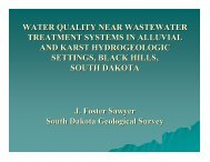 WATER QUALITY NEAR WASTEWATER TREATMENT SYSTEMS ...