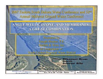 Angle wells, ozone, and membranes