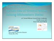 Ground Water Use - South Dakota Geological Survey