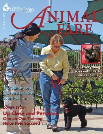 Fall 2007 • V ol. 42 No. 3 - San Diego Humane Society and SPCA