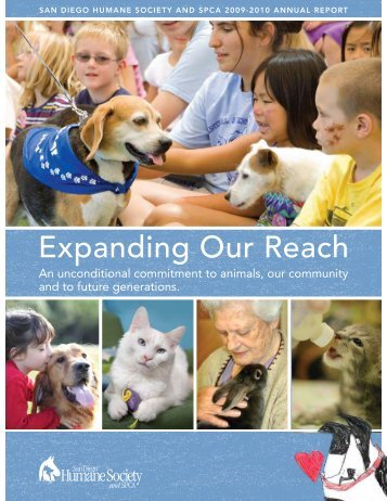 Expanding Our Reach - San Diego Humane Society and SPCA