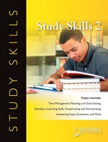 Download Sample - SADDLEBACK Educational Publishing