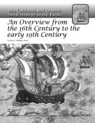 An Overview from the 16th Century to the early 19th Century