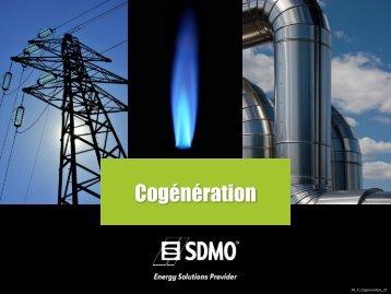 Cogénération - SDMO