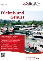 Erlebnis und Genuss - ÖBB Bodenseeschifffahrt Bregenz