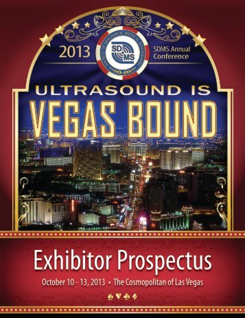 Exhibitor Prospectus - Society of Diagnostic Medical Sonography