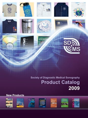 Product Catalog 2009 - Society of Diagnostic Medical Sonography