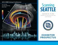 Scanning - Society of Diagnostic Medical Sonography