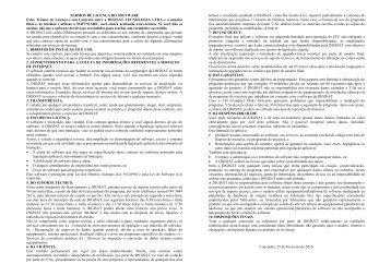 Guia do produto (PDF) - SDN Impressoras Fiscais