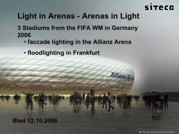 Light in Arenas - Arenas in Light - SDR
