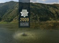 2009 - San Diego County Sheriff's Department