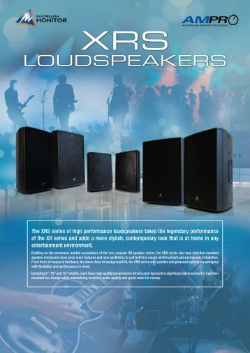 XRS Brochure - Polar Audio