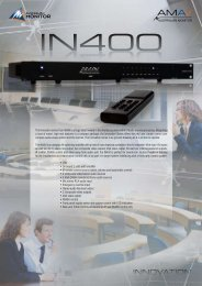 IN400 Brochure - Australian Monitor