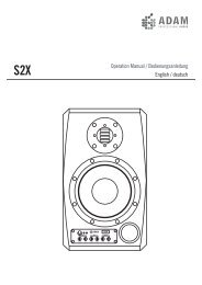 S2X Bedienungsanleitung