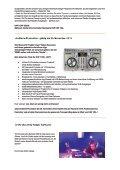 Herzlich willkommen zur Herbst-Ausgabe unseres DJ Newsletters ... - Page 2