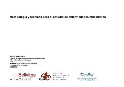 Metodología y técnicas para el estudio de enfermedades musculares