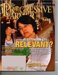 Progressive Farmer article, 'Is Extension Still Relevant?'