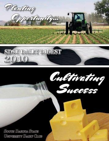 Planting Opportunity... - South Dakota State University