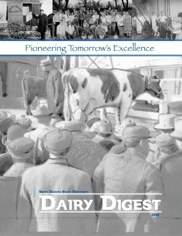 2013 Dairy Digest - South Dakota State University