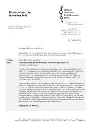 Wichtige Termine im Monat November 2013 als PDF - Deutsches ...