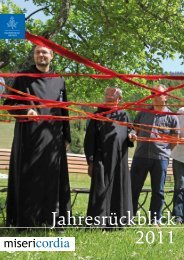 Jahresrückblick 2011 - Orden der Barmherzigen Brüder Bayern