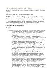 Hoofdstuk I. Algemene bepalingen Artikel 1 - Sdu