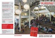 Profileer uw bureau in het Jaarboek de Architect 2014 - Sdu