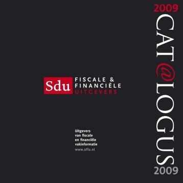 LR webversie SDU cat 2009 .indd