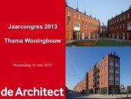 Jaarcongres 2013 Thema Woningbouw - Sdu