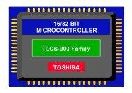 16/32 BIT MICROCONTROLLER TOSHIBA TLCS-900 ... - elzet80.de