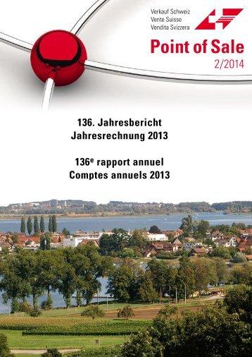 """Verkauf Schweiz """"Point of Sale"""" 2/2014"""