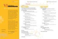 Programa VI jornadas - Sociedad Española de Farmacología ...