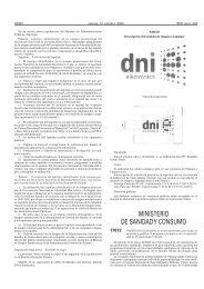 MINISTERIO DE SANIDAD Y CONSUMO - Sociedad Española de ...