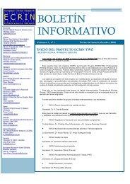 ECRIN Octubre 06 vol 1 - Sociedad Española de Farmacología ...