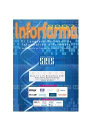 VI Congreso Nacional de Informática y Farmacia - Sociedad ...