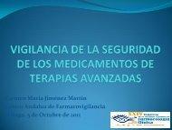 Vigilancia de la seguridad de los medicamentos de terapia avanzada