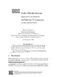 Gofer Objekt-System Imperativ Objektorientierte und Funktionale ...