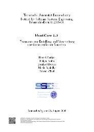 MontiCore 1.0 - Ein Framework zur Erstellung und ... - SE@RWTH