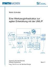 Eine Werkzeuginfrastruktur zur agilen Entwicklung mit der UML⁄P