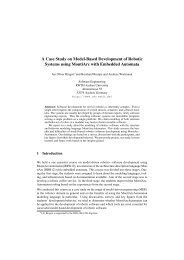 A Case Study on Model-Based Development of Robotic Systems ...