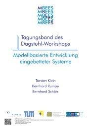 Modellbasierte Entwicklung eingebetteter Systeme. I - Software ...