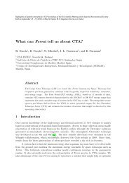 What can Fermi tell us about CTA?