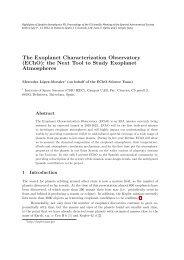 (EChO): the Next Tool to Study Exoplanet Atmospheres