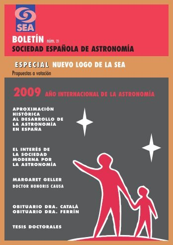 boletin sea - SEA | Sociedad Española de Astronomía
