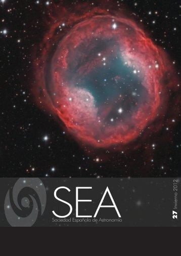 Boletín de la SEA - SEA | Sociedad Española de Astronomía