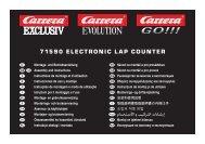71590 ElEctronic lap countEr - Carrera