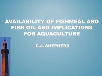 availability of fishmeal and fish oil and implications for ... - Seafish