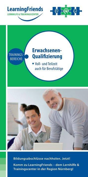 Erwachsenen- Qualifizierung