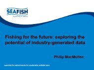 Fishing for the future: exploring the potential of industry ... - Seafish