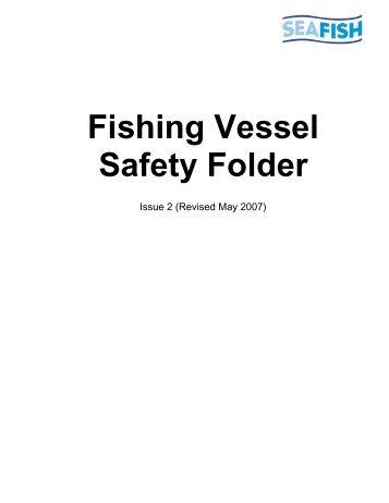 Fishing Vessel Safety Folder - Seafish
